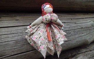 Вепсская кукла оберег