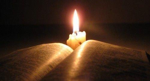 Фотографии и свечи