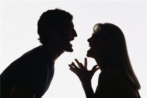 Ссоры в супружеской жизни