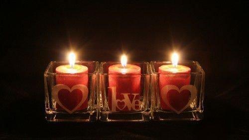 краные свечи
