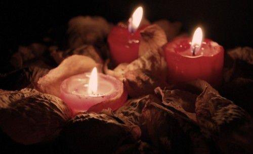 огарки свечей