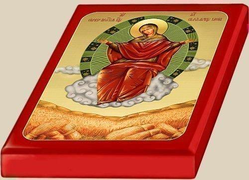 Икона Богородицы «Спорительница хлебов».
