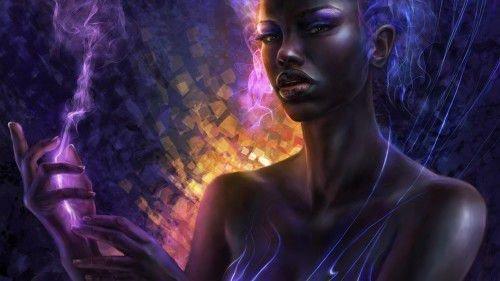 Богиня Эрзули