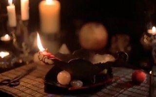 свечи и ритуальные предметы
