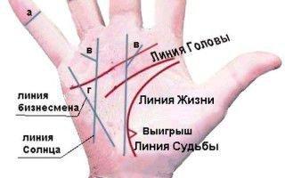 Хиромантия изучает рисунок линий на руке