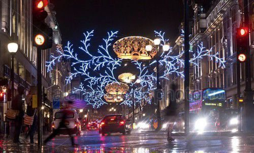 Дождь на Рождество