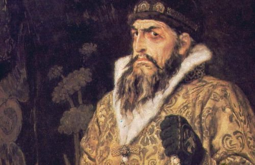 Царь Иван Грозный на картине Васнецова