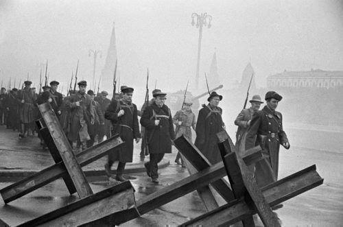 Ополченцы в Москве 1941 года