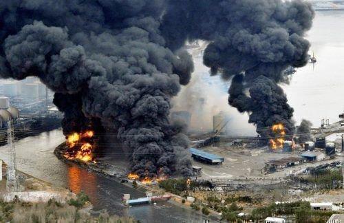 Фото разрушний на «Фукусима»