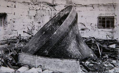 Фото разрушеного Храма Христа Спасителя