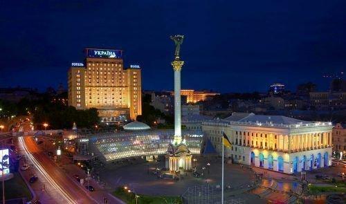 Киев, гостинница Украина