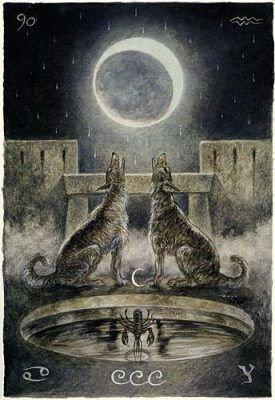Таро луна