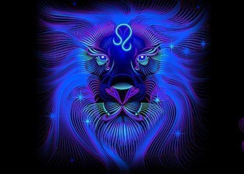 Знак гороскопа лев