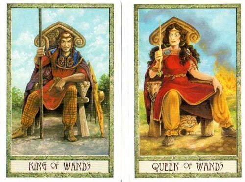 Король и Королева Жезлов