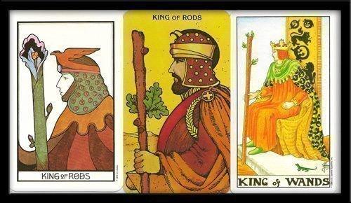 Король Жезлов в раскладе