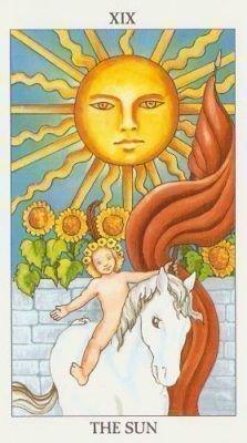 Таро Солнце карта